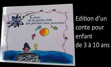 Visuel du projet édition d'un conte pour enfant