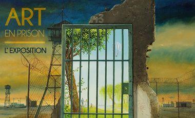 Visuel du projet Art en Prison - Exposition internationale