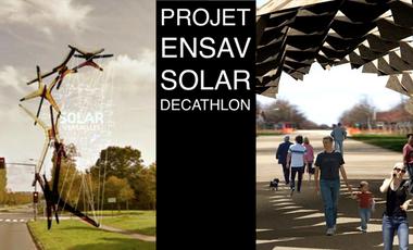 Visueel van project Projet ENSAV Solar Decathlon