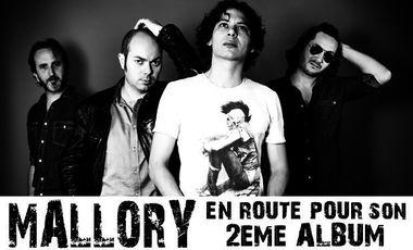 Project visual MALLORY, SUR LA ROUTE DE SON 2ème ALBUM...