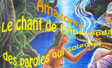 Project visual Le chant de l'Anaconda,des paroles qui soignent...