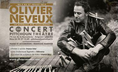 Project visual OLIVIER NEVEUX AU FESTIVAL D'AVIGNON !