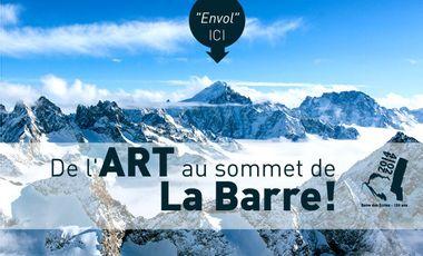 Visueel van project de l'Art au sommet de la Barre