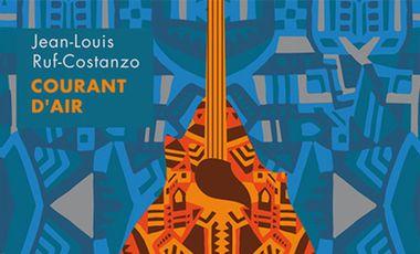 Visueel van project Courant d'Air CD solo de Jean-Louis Ruf-Costanzo