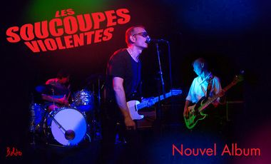 Project visual Le nouvel album des Soucoupes Violentes