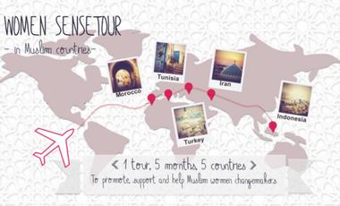Visueel van project WOMEN SENSETOUR - in Muslim countries