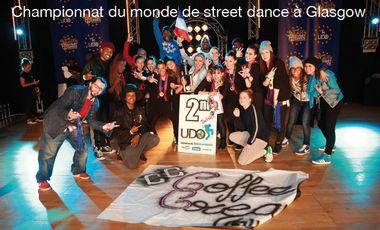 Visueel van project Championnat du monde de street dance à Glasgow.