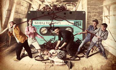 Project visual Les P'tits Frères : Nouvel album !