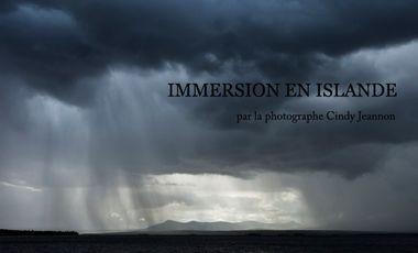 Project visual Immersion en Islande