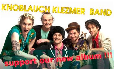 Project visual Knoblauch Klezmer Band - our first full album