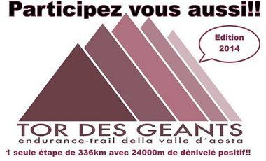 Visueel van project Le plus long trail au monde: Le Tor des Géants 2014