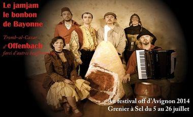 Project visual Le jamjam le bonbon de Bayonne / Offenbach à Avignon