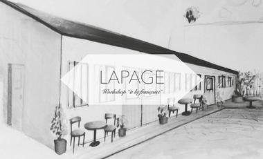 """Visueel van project Lapage - Workshop """"à la française"""""""