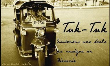 Visuel du projet Tuk-Tuk : soutenons une école de musique birmane