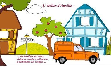 Visueel van project L'Atelier d'Aurélie, boutique sur roues.