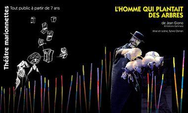 Visuel du projet L'HOMME QUI PLANTAIT DES ARBRES au Festival d'Avignon, avec la Compagnie ARKETAL