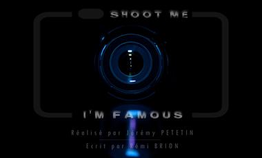 Visueel van project Shoot Me, I'm Famous