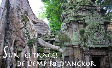 """Visueel van project """"SUR LES TRACES DE L'EMPIRE D'ANGKOR"""" Participez à l'édition du coffret DVD !"""