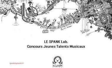 Visueel van project Le SPANK Lab - Tremplin musical