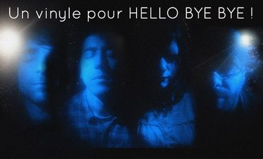 Project visual Un vinyle pour Hello Bye Bye !
