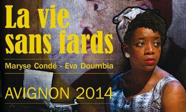 Project visual La Vie sans fards - Avignon 2014