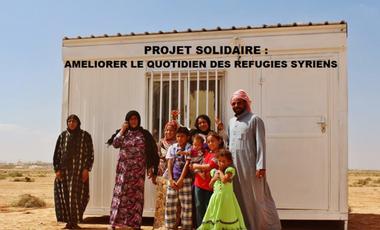 Visuel du projet Jordanie : Améliorer le quotidien des réfugiés syriens
