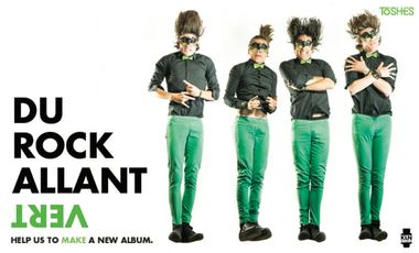 Visuel du projet Du Rock Allant Vert
