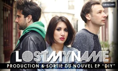 """Project visual LOST MY NAME : PRODUCTION & SORTIE DU NOUVEL EP """" D I Y """""""