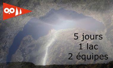 Visueel van project 5 jours, 1 lac, 2 équipes
