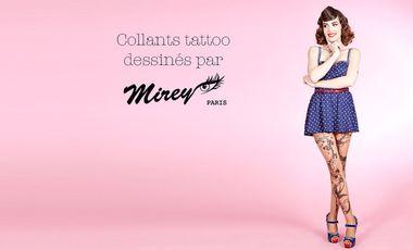 Visueel van project Les collants tattoo