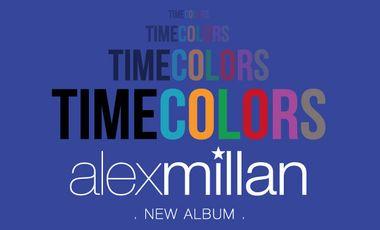 Visueel van project Alex Millan - TIMECOLORS - New Album