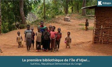 Visueel van project La première bibliothèque de l'île d'Idjwi…