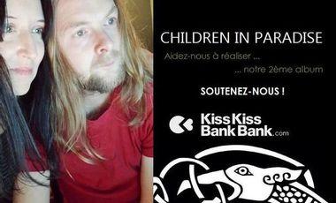 """Project visual """" Morrigan """" : Aidez le groupe CHILDREN IN PARADISE à réaliser son 2ème album"""