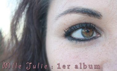 Visueel van project 1er album de Mlle Julie