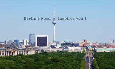 Visueel van project Berlin's Food inspires you !