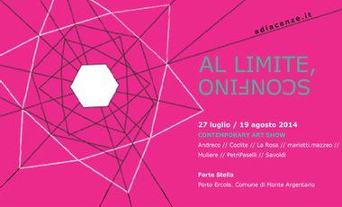 Project visual AL LIMITE, SCONFINO
