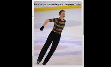 """Visuel du projet Pour ne pas rompre la glace : Le projet ''nono"""""""