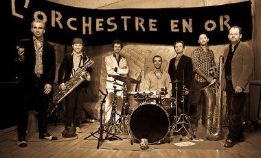 Visueel van project L'Orchestre en Or - l'album