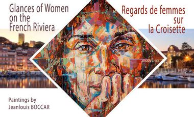 Project visual Regards de femmes sur la Croisette.