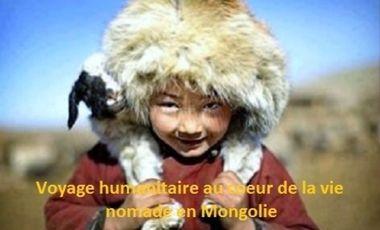Project visual Voyage humanitaire au coeur de la vie nomade en Mongolie