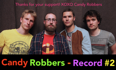 Visuel du projet Candy Robbers - Record #2