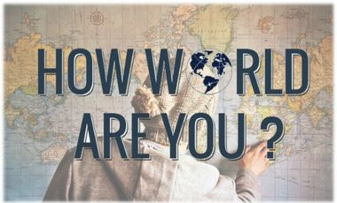 Visueel van project How world are you ?