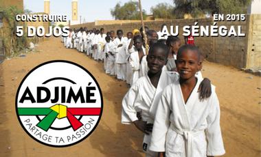 Visueel van project Le judo, une école de la vie à partager avec les enfants du Sénégal