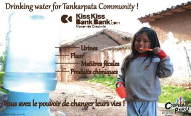 Visuel du projet Drinking water for Tankarpata Community !