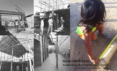 Visueel van project Ensemble, édifions autrement... l'aventure continue!