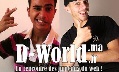 Project visual D-World² : les jumeaux du web ! (Part1)