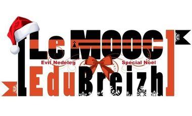 Visueel van project Mooc EduBreizh. Spécial Noël