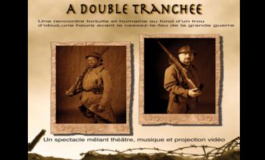 """Project visual Ciné spectacle """"à double tranchée"""""""