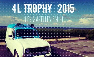 Project visual Les Gazelles en 4L - 4L Trophy 2015