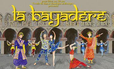 Project visual Des décors pour la Bayadère
